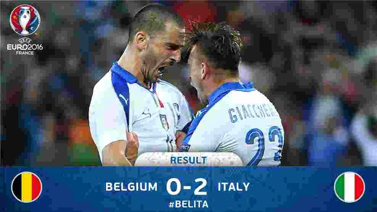 Uefa Euro 2016 Belgium vs Italy Live streaming