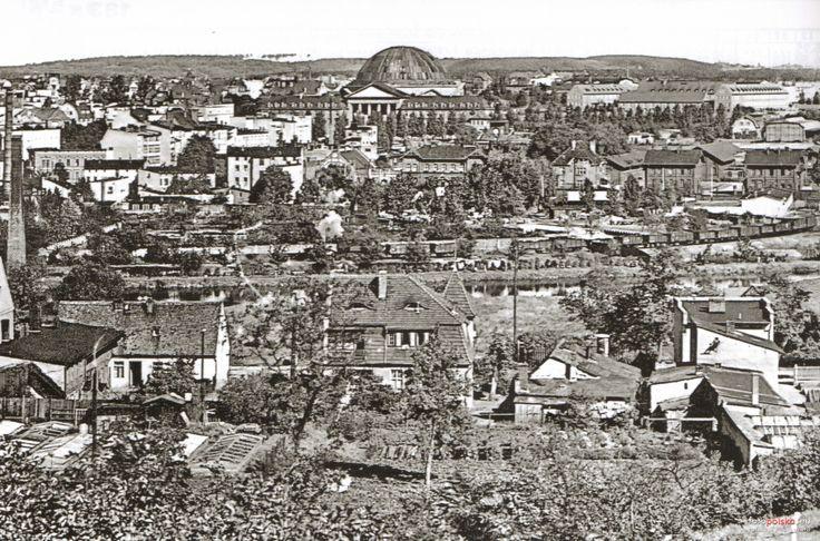 Panoramy Bydgoszczy, Bydgoszcz - 1940 rok, stare zdjęcia