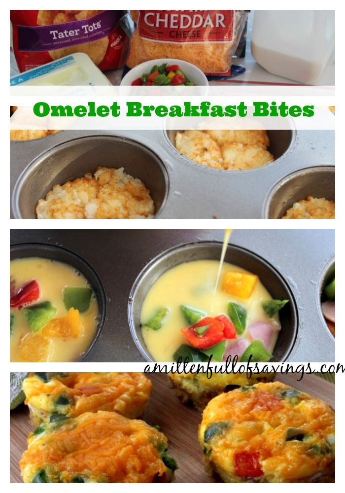 If you're looking for easy to make breakfast recipes, then check out these little delicious omelet breakfast bites to make on a lazy Saturday morning...