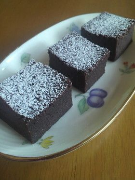 超簡単しっとり濃厚チョコケーキ