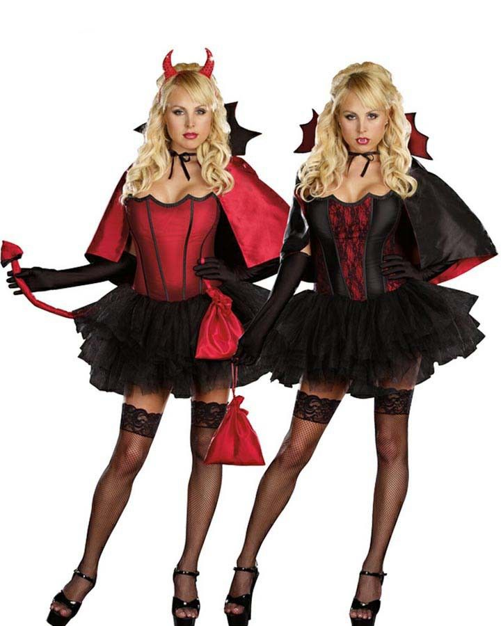 devils night with bite womens costume halloween2013 - Sale Halloween Costumes