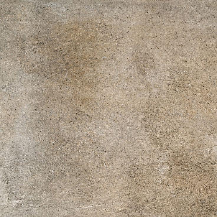 grès cérame émaill pierre marron antidérapant 502 mm x 502 mm (3308974)
