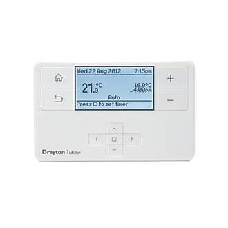 Drayton MiStat MP710R9K09SX Wireless Electronic sensing element. Battery powered wireless room thermostat. Override facility. Holiday mode. Frost protection. Automatic BST/GMT time change. EN 60730-1, EN 60730-2-7 and EN 60730-2-9. http://www.MightGet.com/april-2017-1/drayton-mistat-mp710r9k09sx-wireless.asp