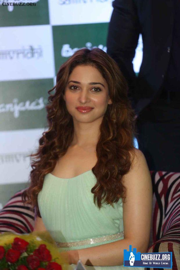 Sexy Pics Of Actress Tamannaah Bhatia At  Launches Banjara Hair Oil Product