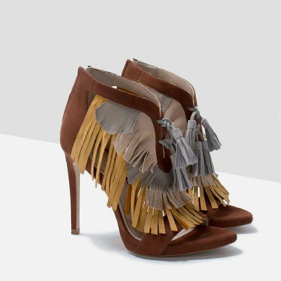 HP (it girl) Zara shoe Super cute. Brand new. Size 37  Flash sale! Zara Shoes