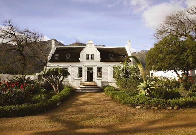 Guest Farms - Rickety Bridge Manor House in Franschhoek, Western Cape, South Africa