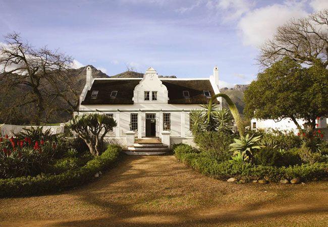 Rickety Bridge Manor House in Franschhoek, Western Cape