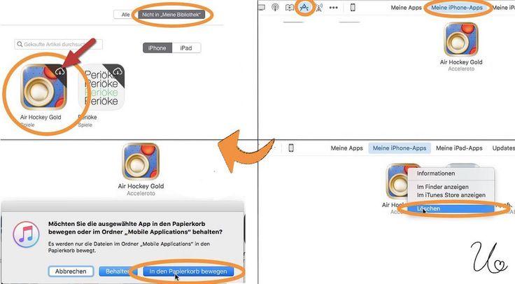 https://flic.kr/p/Db1eaS | Apps aus iTunes löschen | Übersicht behalten: Überflüssige Apps aus der iTunes Mediathek löschen.