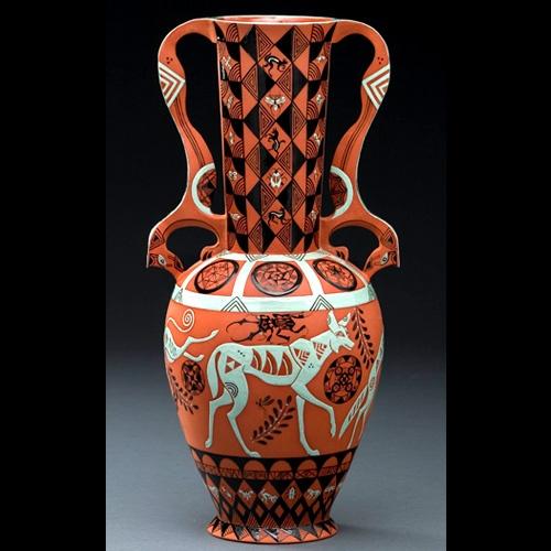 A Ball, terra cotta vase, Mariko Swisher