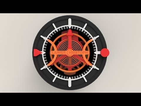 Introducing: The World's First Fully Functional 3D Printed Watch: The Christoph Laimer Tourbillon