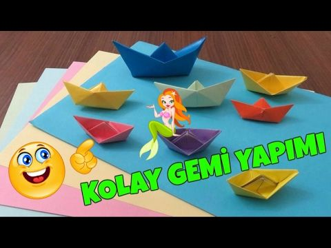 Kağıttan Gemi Nasıl Yapılır / How to make a Paper Boat  #howtomakeapaperboat#origamiboatbuilding#origamiboatinstructions#origamiboat#origamiboata4#origamiboata4paper#origamiboateasyforkids#easyorigami#kolaygemiyapımı#kağıtgemiyapımı#