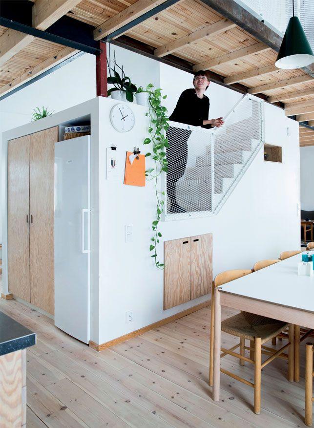 Hus med kontraster: Unikt & nybyggetFlot bolig i Malmø: Unikt & nybygget - Boligliv