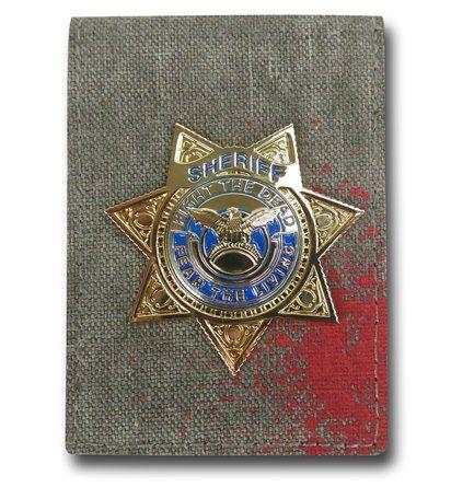 Walking Dead Badge Wallet