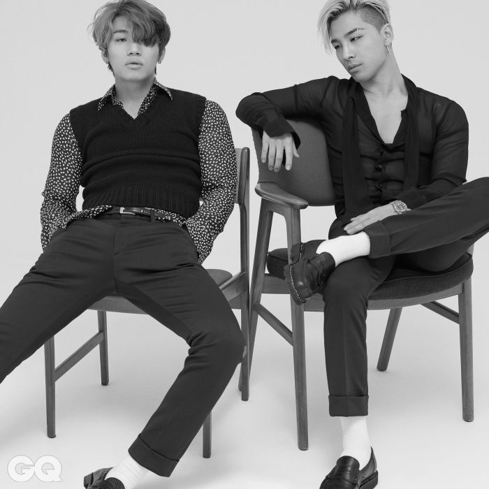 Daesung and Taeyang - GQ Magazine August Issue '15