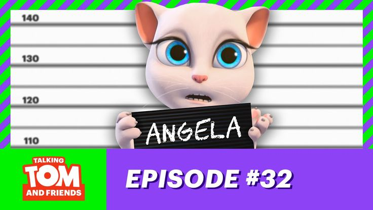 Talking Tom and Friends ep.32 - Angela's Secret