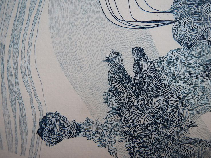 ICE Ⅲ(Part) / Etching 2014