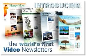 Introducing the world 1st video newsletter..no others can compare , more info at www.1384257.talkfusion.com