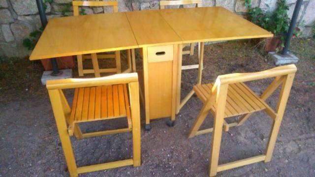 Las 25 mejores ideas sobre mesas y sillas plegables en for Sillas y mesas plegables