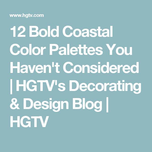 12 Best Images About Hgtv On Pinterest: 17 Best Ideas About Coastal Color Palettes On Pinterest