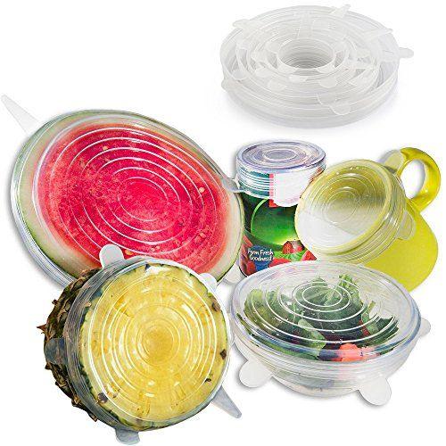 Anpro 7 Stück Silikondeckel Dehnbare Frischhalte Deckel Verschiedenen Größen Silikon deckel Set für Gemüse, Becher, Töpfe, Tassen, Obst #Anpro #Stück #Silikondeckel #Dehnbare #Frischhalte #Deckel #Verschiedenen #Größen #Silikon #deckel #für #Gemüse, #Becher, #Töpfe, #Tassen, #Obst