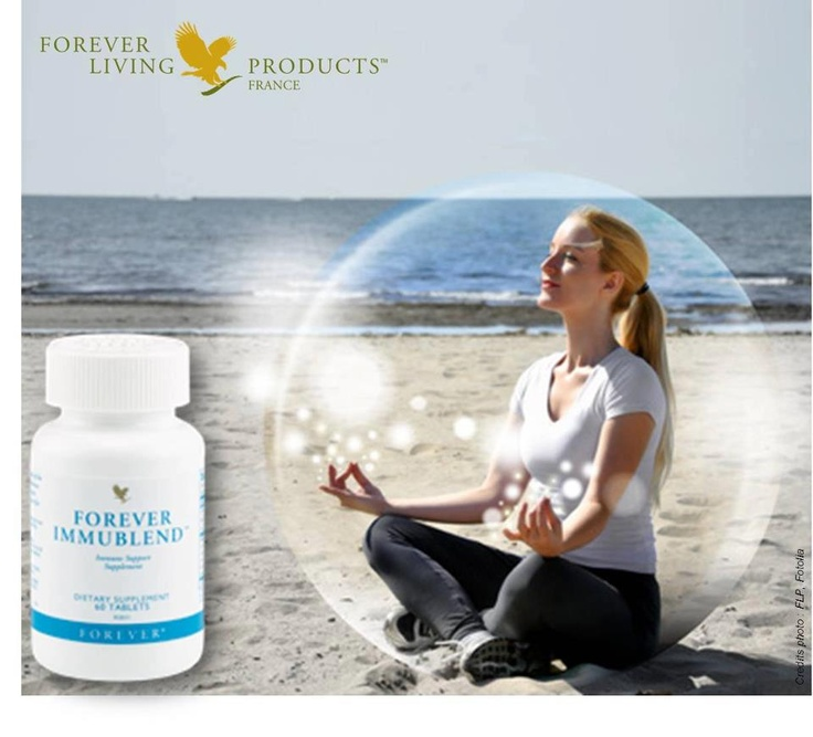 Forever ImmuBlend™ contains a proprietary blend of fructooligosaccharides (FOS), lactoferrin, maitake and shiitake mushrooms and other specific nutrients designed to support the immune system. It helps the body's biological defense system to operate at peak performance so you can carry on your daily routine without interruption. www.aloeme.myflpbiz.com