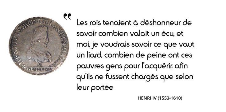 Cet intérêt pour les petites gens est une originalité du roi #HenriIV. Une véritable histoire d'amour ?