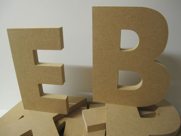 Wooden Letters.QUALITY Large 200mm high 18mm thick NEW AHARONI Font