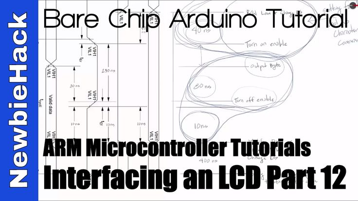 25. How to Interface an LCD to an ARM Microcontroller Tutorial - Part 12