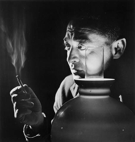 peter lorre by yousuf karsh ~ i wondering if he's thinking about using a dog's wishbone...