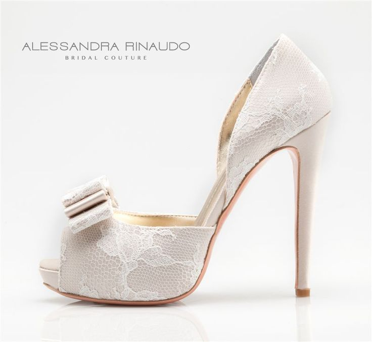 scarpe sposa pizzo