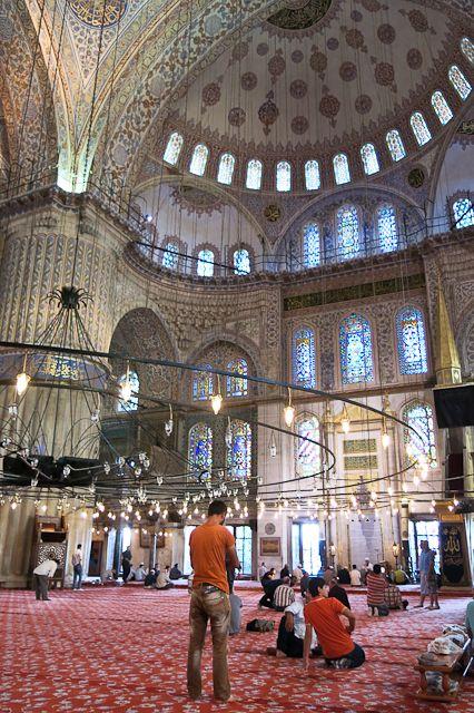 Istanbul, je t'aime! Ma visite de la Grande Mosquée d'Istanbul en Turquie