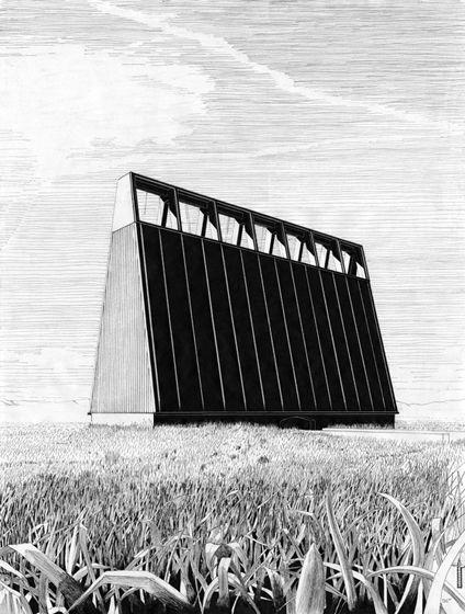 architekturzeichnung beinhaus