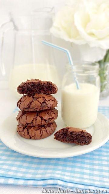 Я бы даже сказала, что это СУПЕР шоколадное печенье, потому что в рецепте есть…