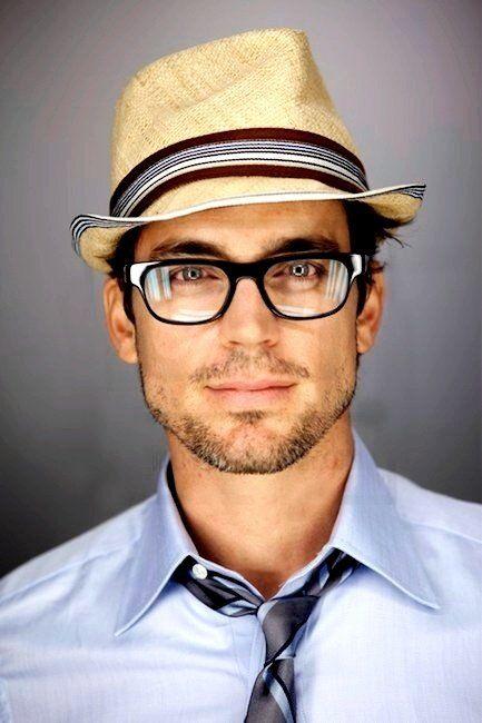 matt bomer.... Argh! He even looks sexii in glasses sigh!!