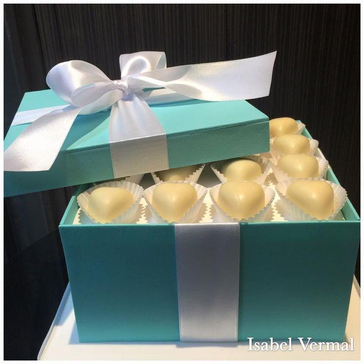 Torta caja de bombones - Isabel Vermal