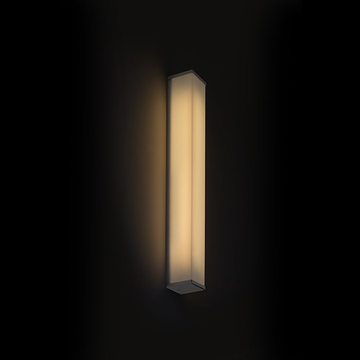 ADAGIO 60 wall chrome 230V G5 24W IP44. Our code: R12217.  Massive angular bathroom light with cover glass in plastic and chrome-plated details. Suitable with use around mirrors.  #rendl_lighting #lightdesign#interiordesign #interiorinspiration#lighting #interiordecor #lamp#homedecor #moderndesign #chandelier#tracklighting #interiorlighting#dreamhome #belysning #minimaldesign#minimal #moderndesign #interiors#designerlighting #contemporarydesign#designideas #minimal#contemporaryinterior…
