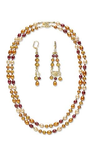 510 best jewelry making projects images on pinterest for Fall into color jewelry walmart