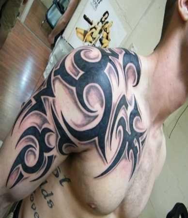 Tribal Shoulder Tattoo Designs - Tattoo Shortlist