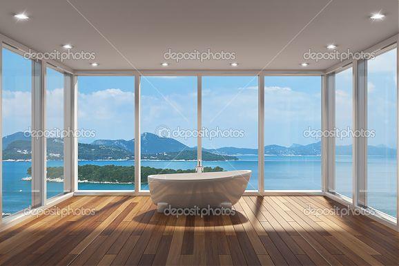 Фотообои Современная ванная комната