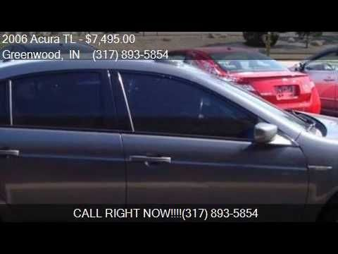 2006 Acura TL w/Navi 4dr Sedan 6M w/Navi for sale in Greenwo