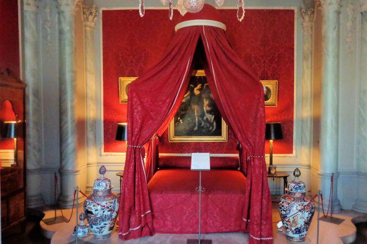 De Rode slaapkamer.