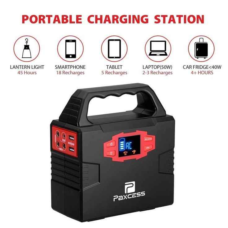 100-Watt Portable Generator Power Inverter 40800mAh CPAP Battery Pack Home Camping Emergency Power Supply Charged by Solar Panel/Wall Outlet/Car with Dual 110V AC Outlet 3 DC 12V Ports USB Ports  Click the link in my bio to view full review.  #powerbank #phonecharger #portablecharger #phoneaccessories #cellphone #smartphone #charger #accessories #generator #powerinverter #solarpanel #camping #battery #inverter