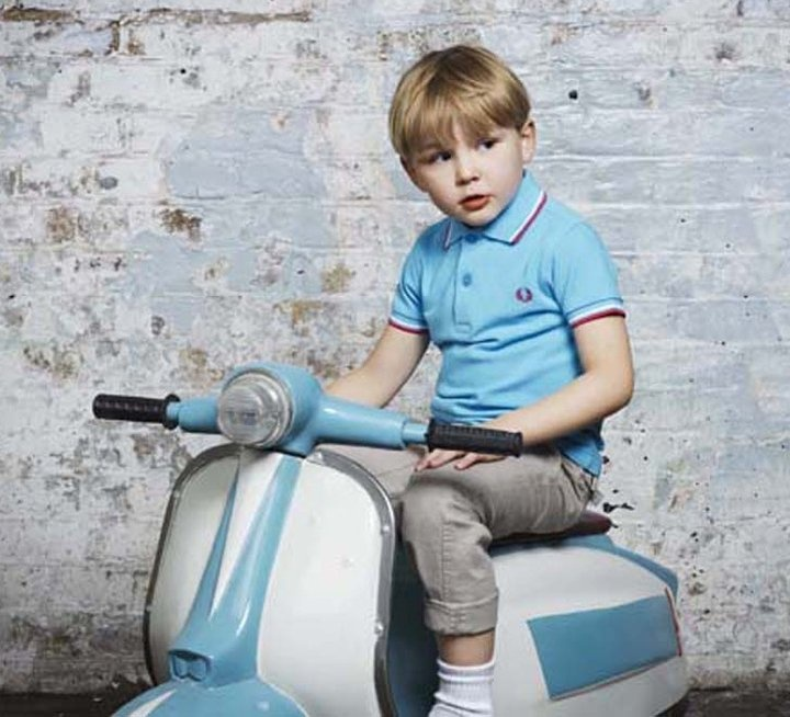 "kid with his ""lambretta"""