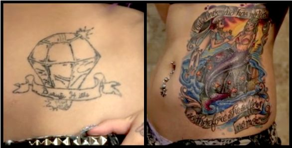 Megan massacre cover up worsttattoos america 39 s worst for Tattoo girls full episodes