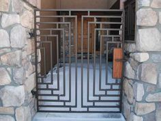 frank lloyd wright fence design - Google Search