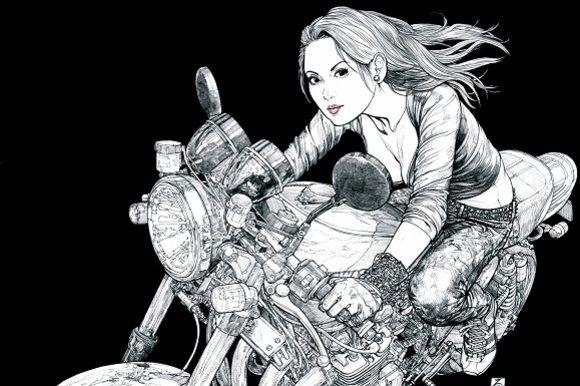 関東のライダーの聖地・箱根大観山で『東本昌平先生のイラストギャラリー』開催 - LAWRENCE(ロレンス) - Motorcycle x Cars + α…