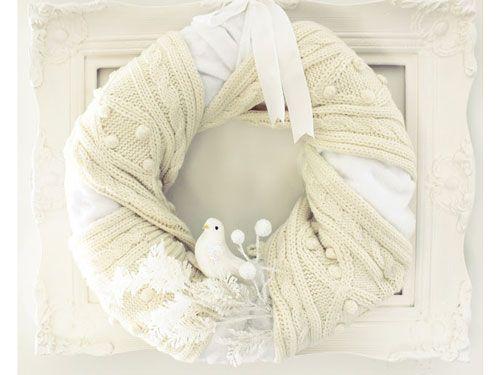 Cozy Winter Wreath