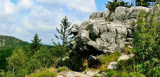Polský národní park Góry Stolowe - Polsko
