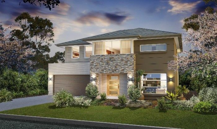 Masterton home designs bronte clovelly lhs facade for Home designs masterton