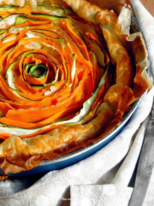 Crostata di verdure a spirale | Honest Cooking Italia